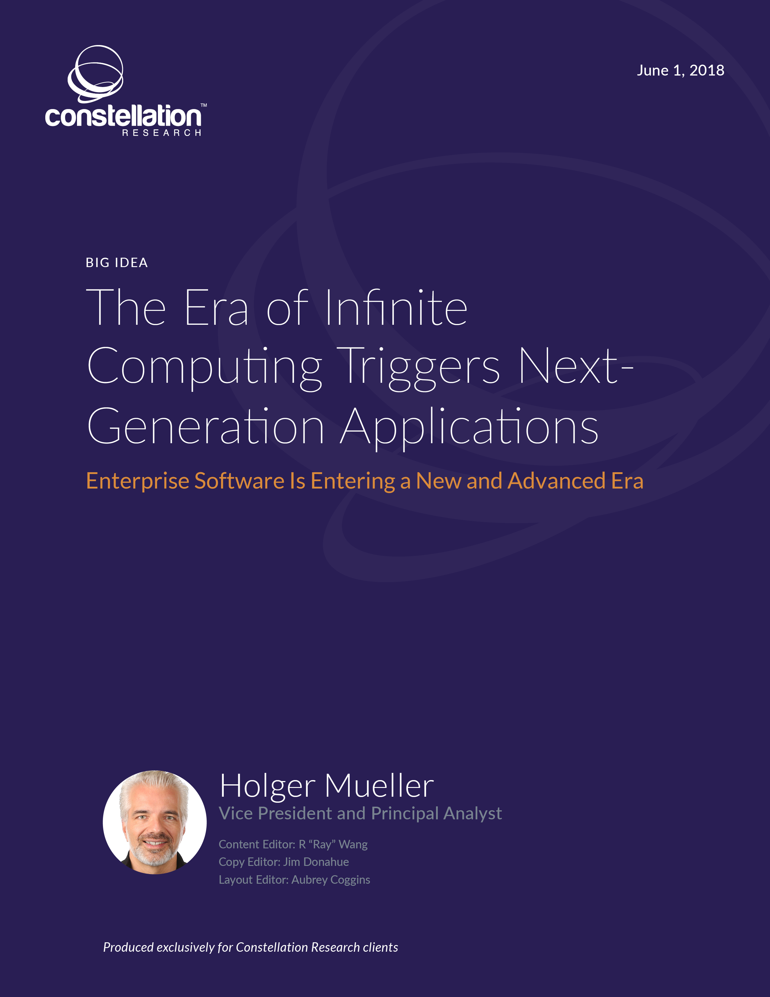 The Era of Infinite Computing Triggers Next-Generation Applications
