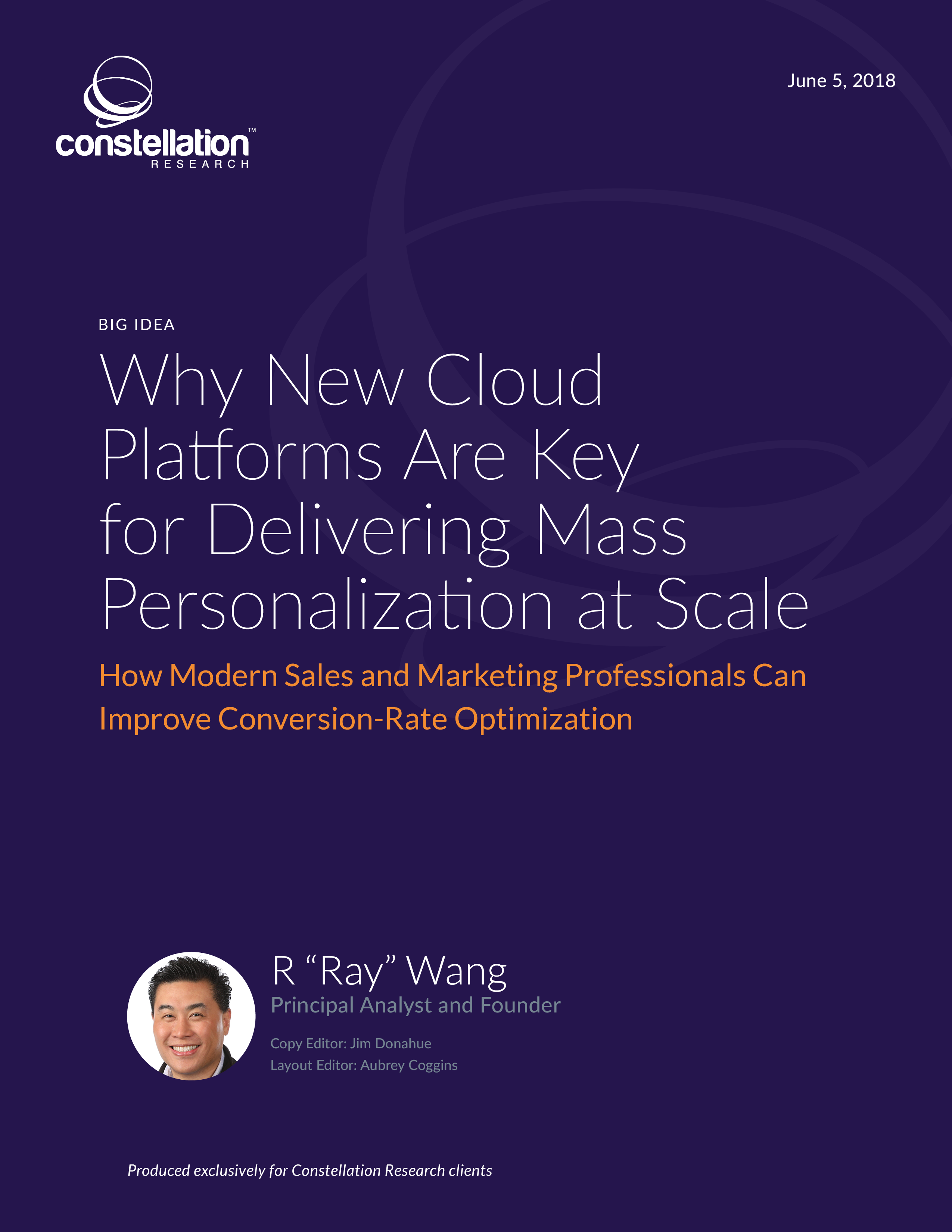 Why New Cloud Platforms are Key for Delivering Mass Personalization at Scale