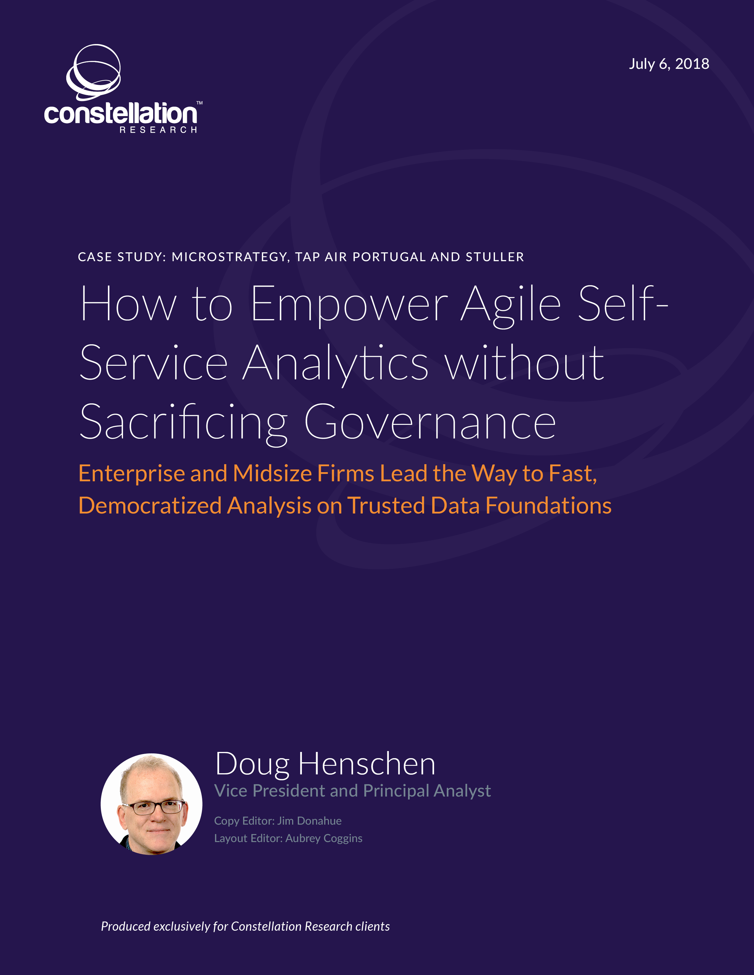 How to Empower Agile Self-Service Analytics without Sacrificing Governance