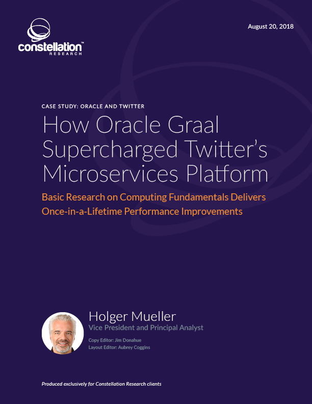 How Oracle Graal Supercharged Twitter's Microservices Platform
