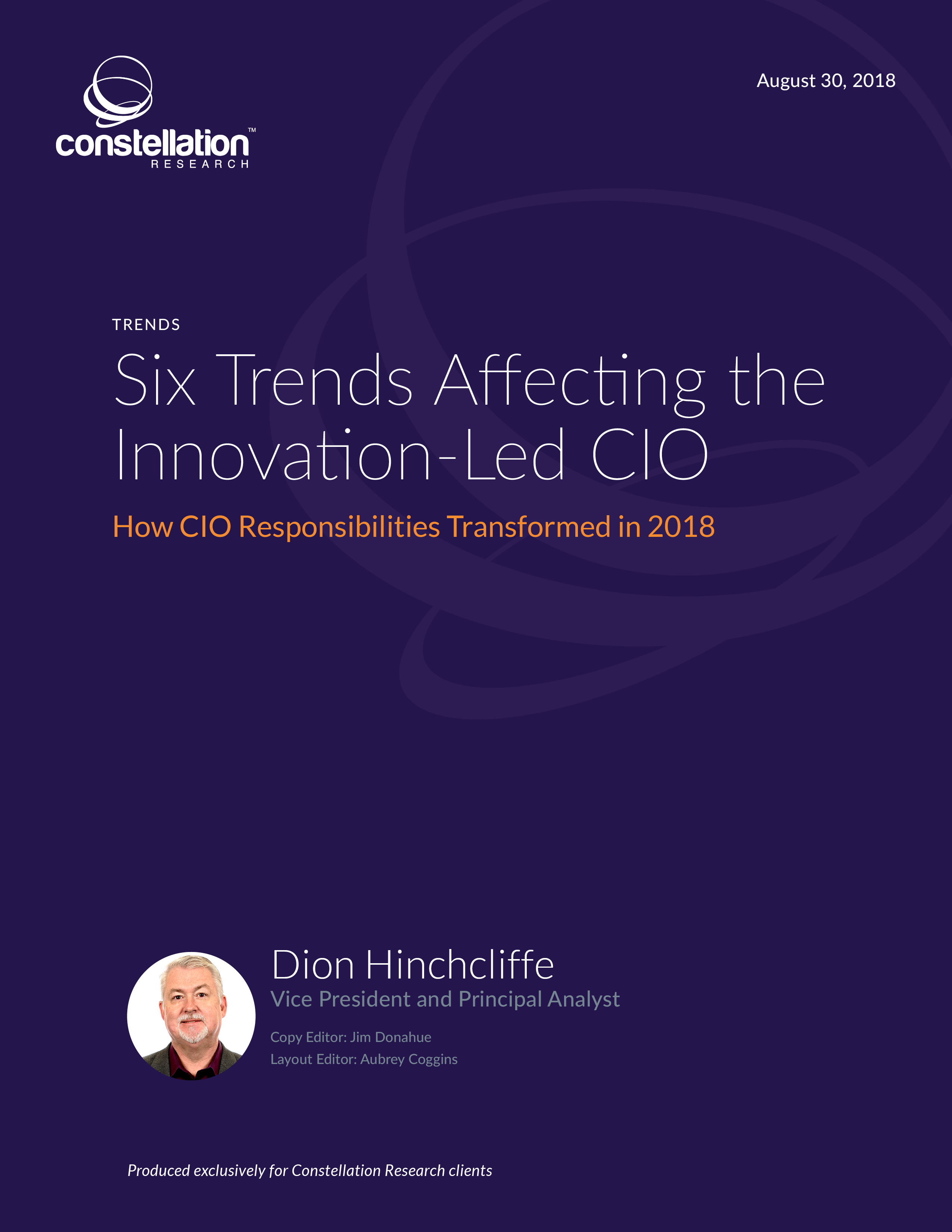 Six Trends Affecting the Innovation-Led CIO