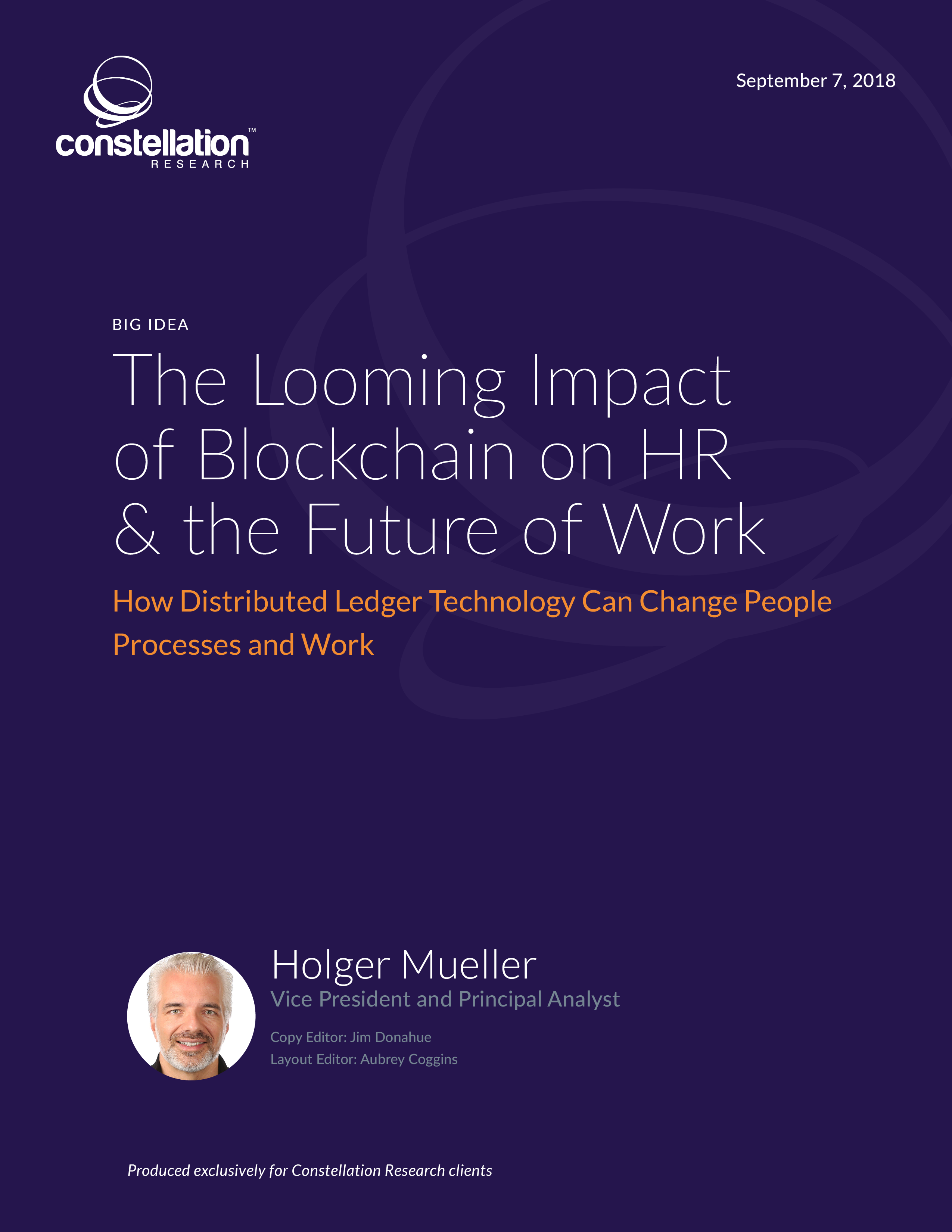 Looming Impact of Blockchain on HR and Future of Work