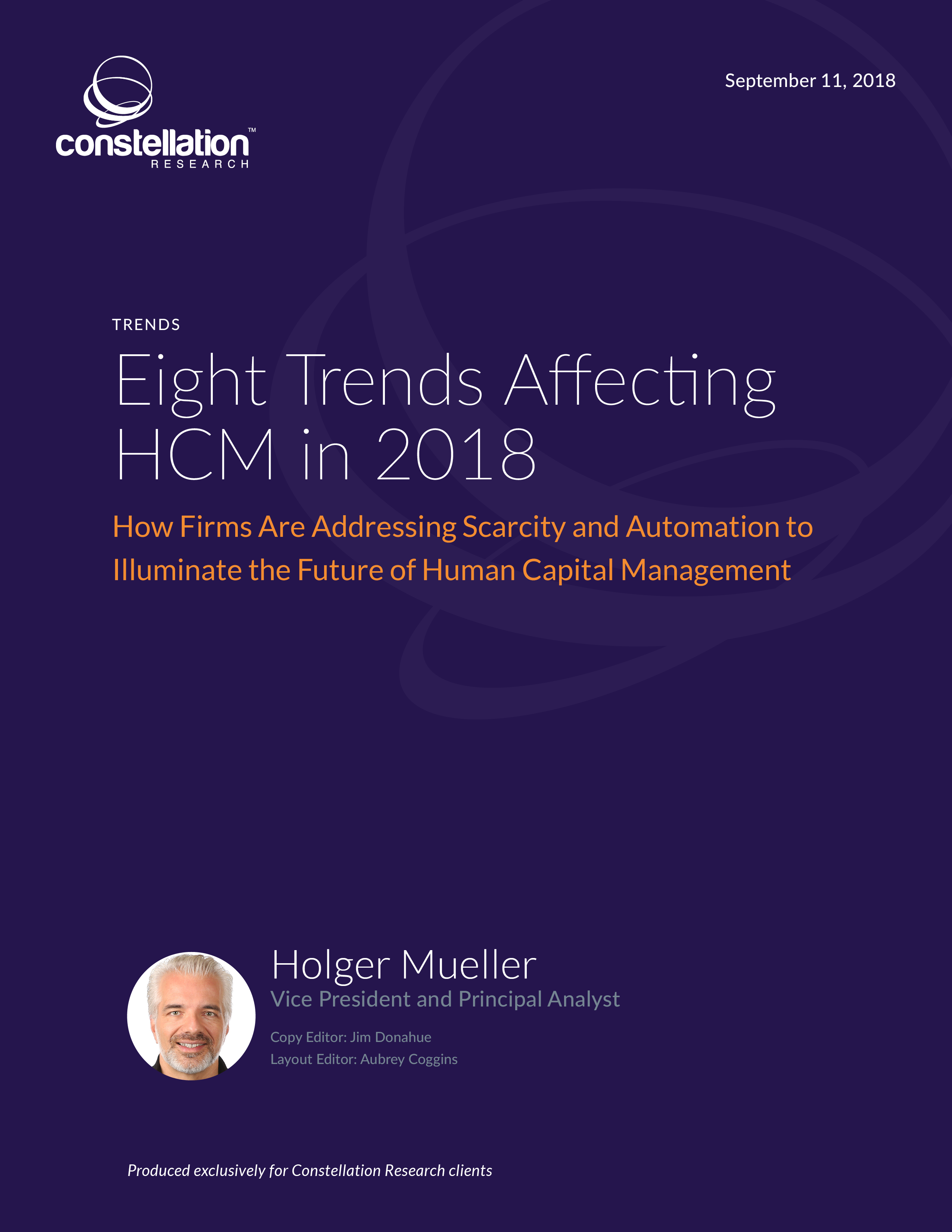 Eight trends affecting HCM in 2018
