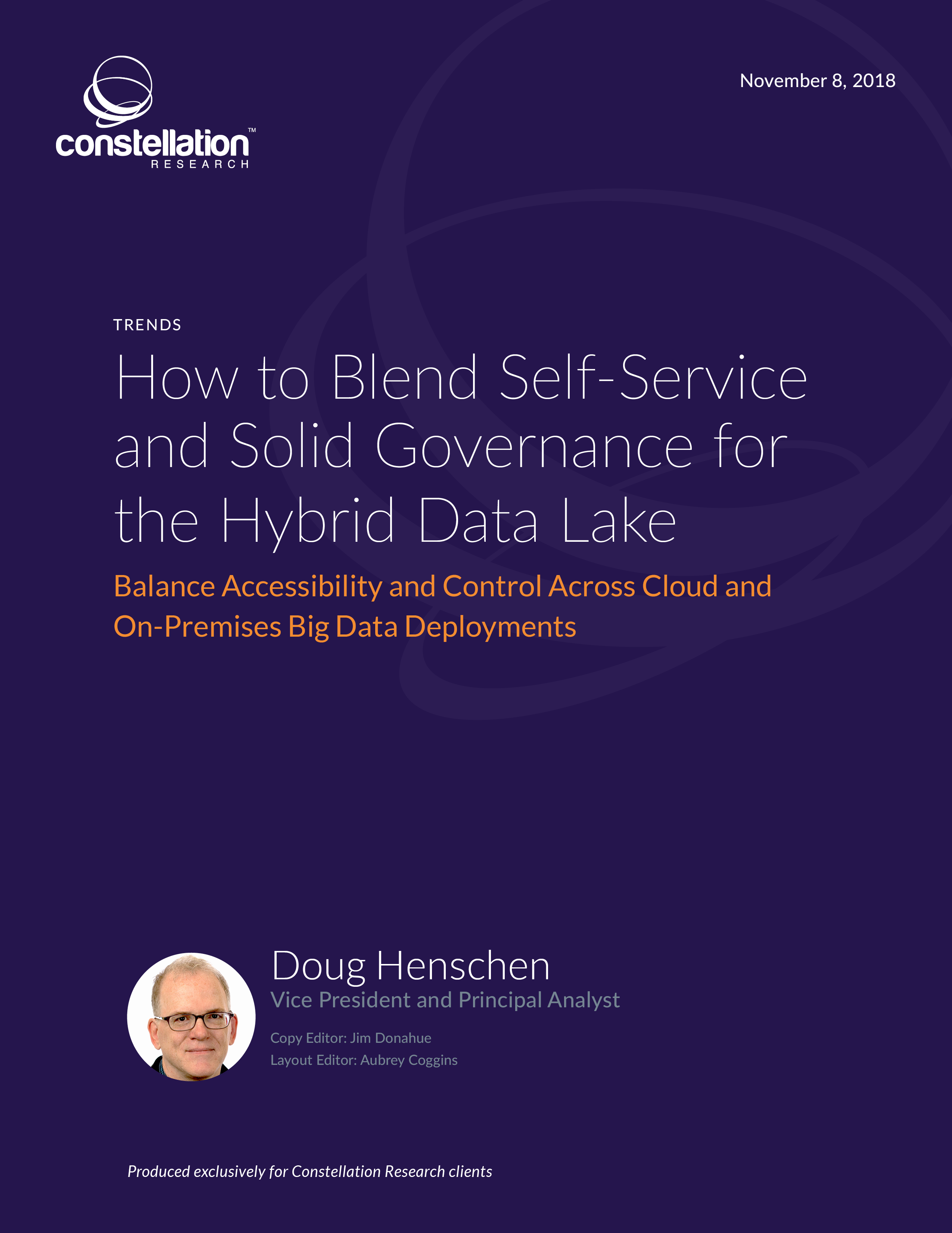 How to Blend Self-Service and Solid Governance for the Hybrid Data Lake