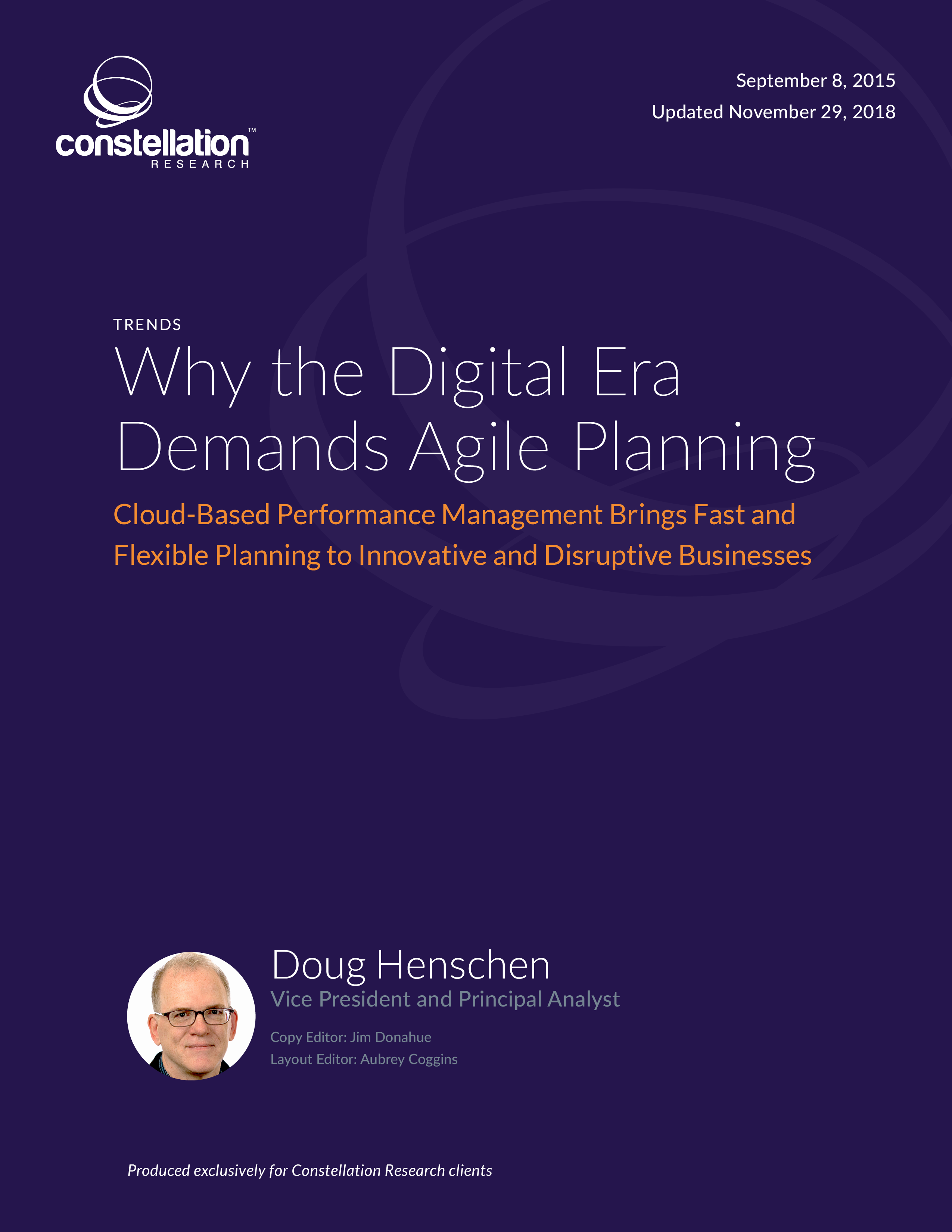 Why the Digital Era Demands Agile Planning