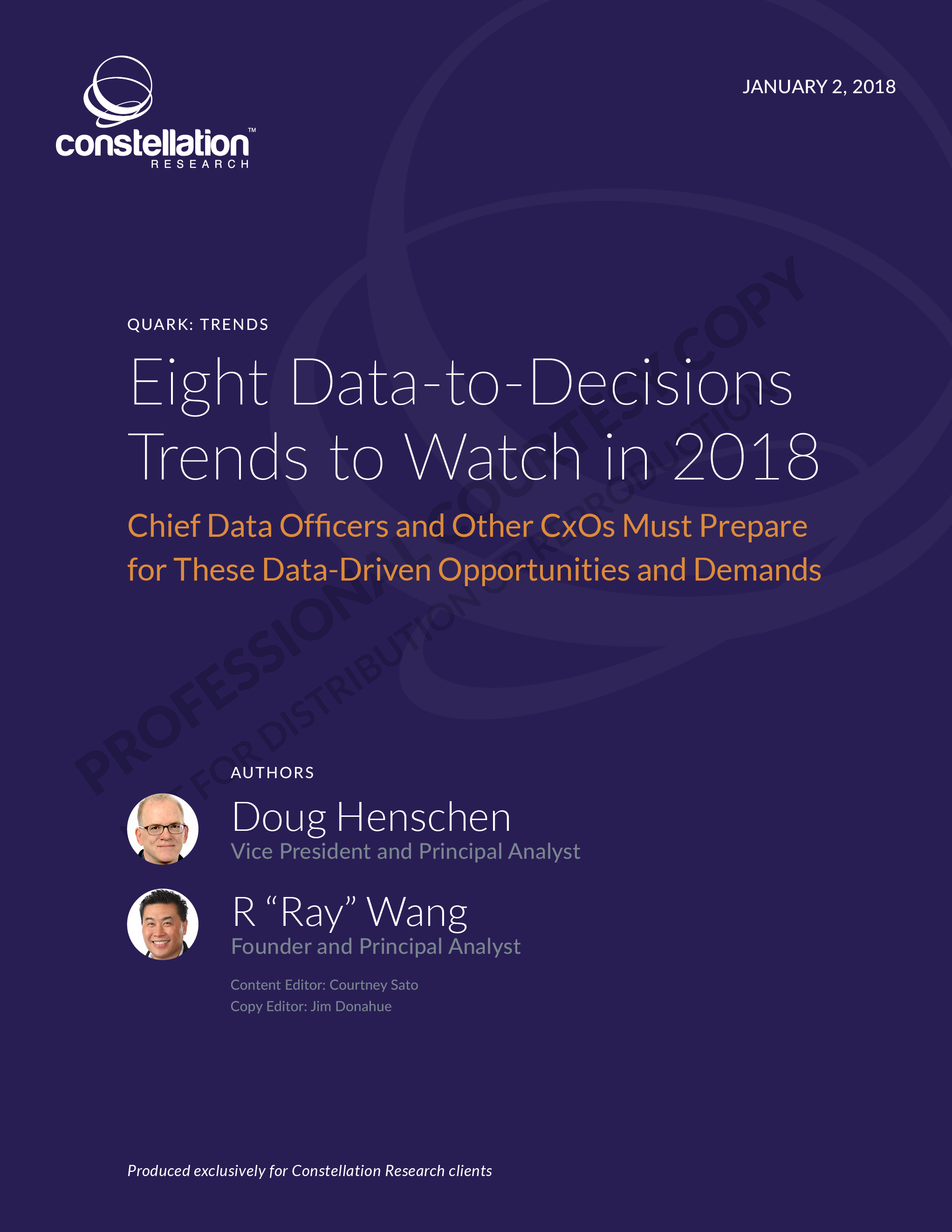 8 Data to Decisions Trends for 2018