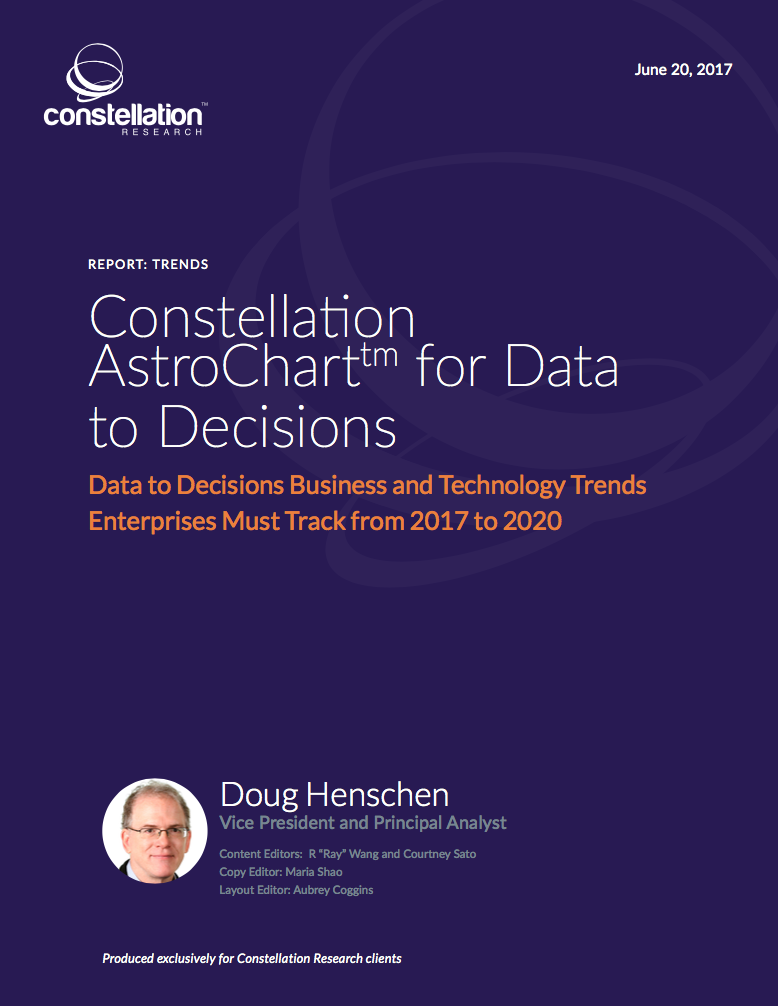 Constellation Astrochart Data to Decisions Trends