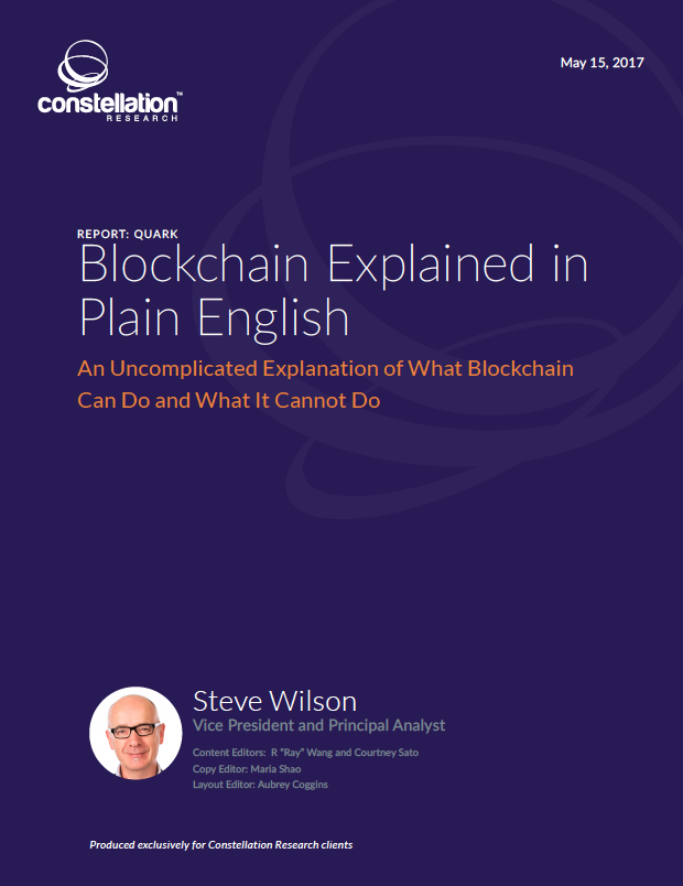 Blockchain Explained In Plain English Constellation