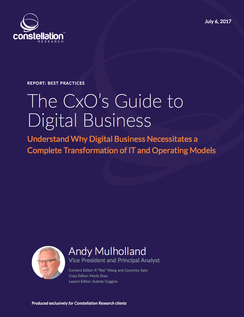 The CXO Guide to Digital Business