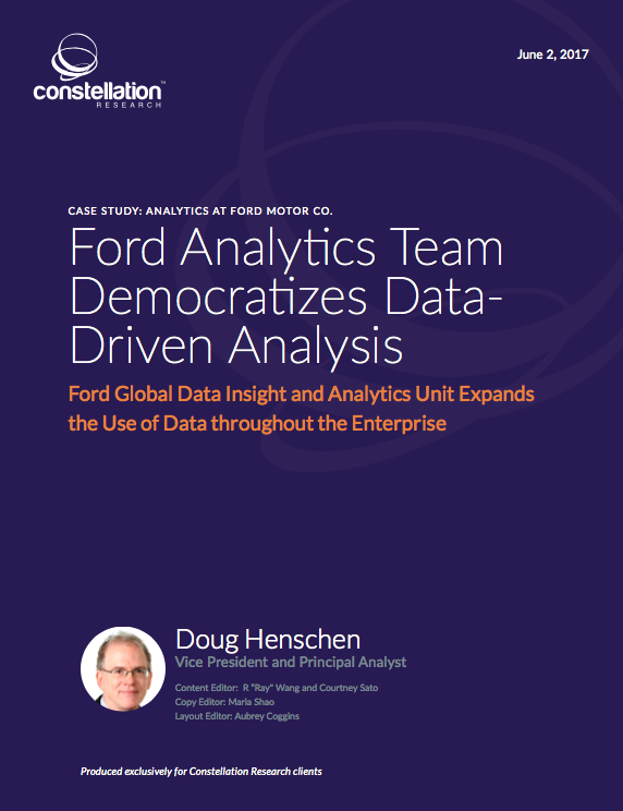 ford motor company case study analysis Case study ford motor company uses data guru for faster, more accurate  model building challenge: ford motor company quickly realized.