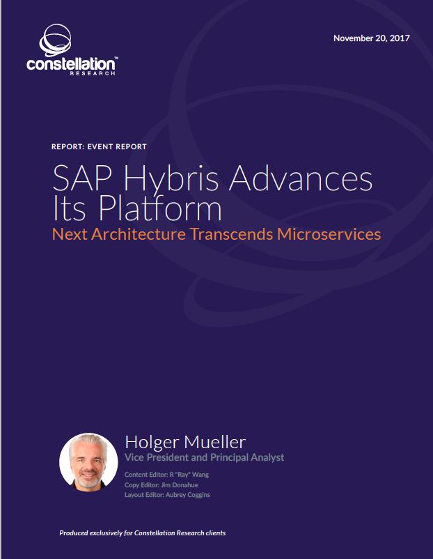 SAP Hybris Live event report