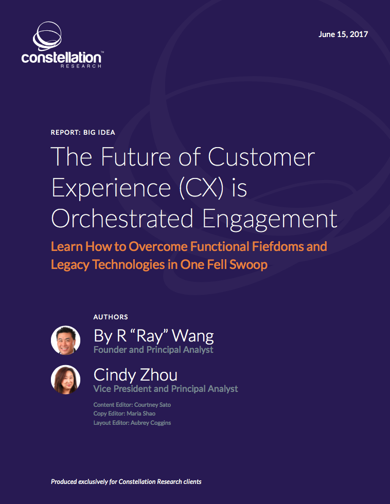 The Future of Customer Experience is Orchestrated Engagement