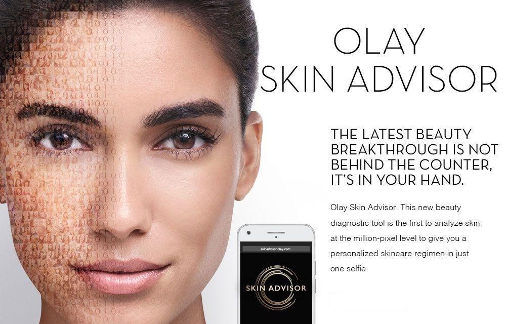 Eric Gruen and Olay Skin Advisor