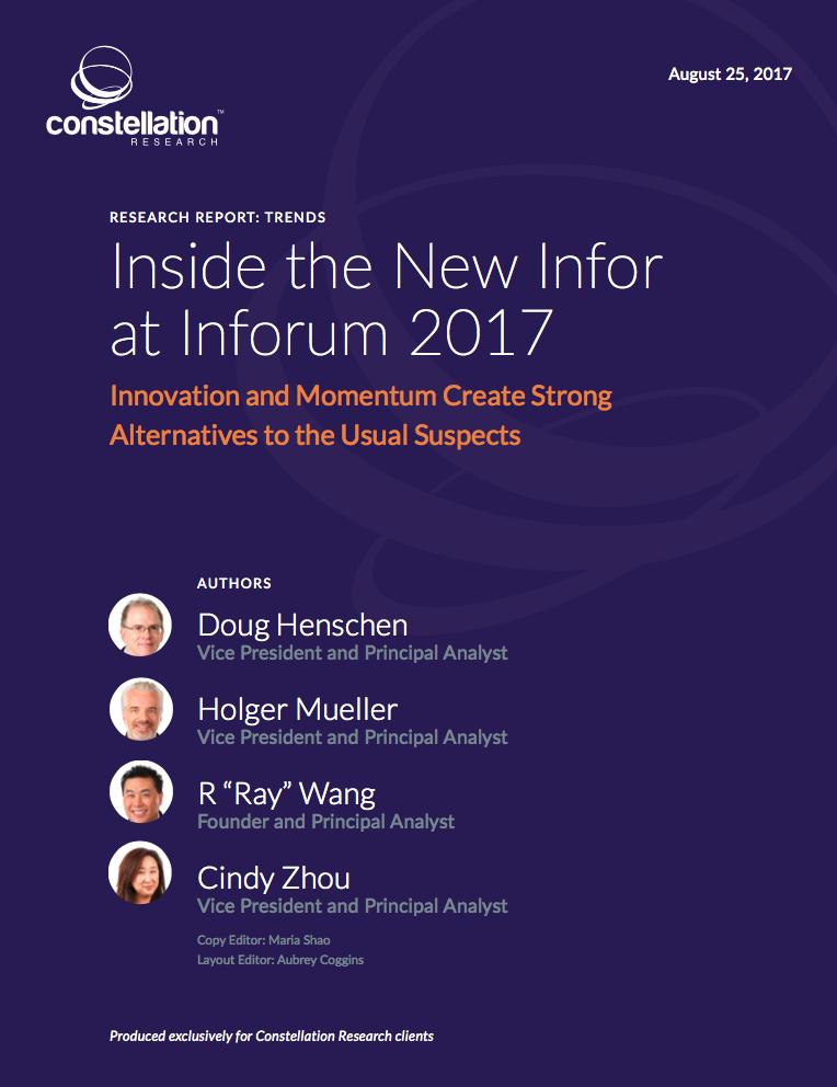 Inside the New Infor at Inforum