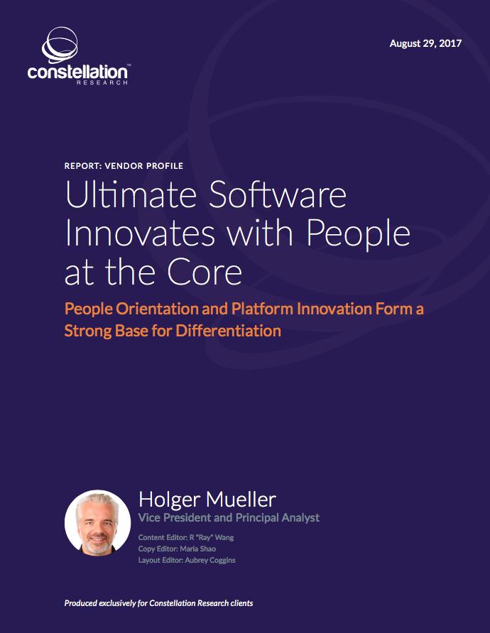Ultimate Software vendor profile
