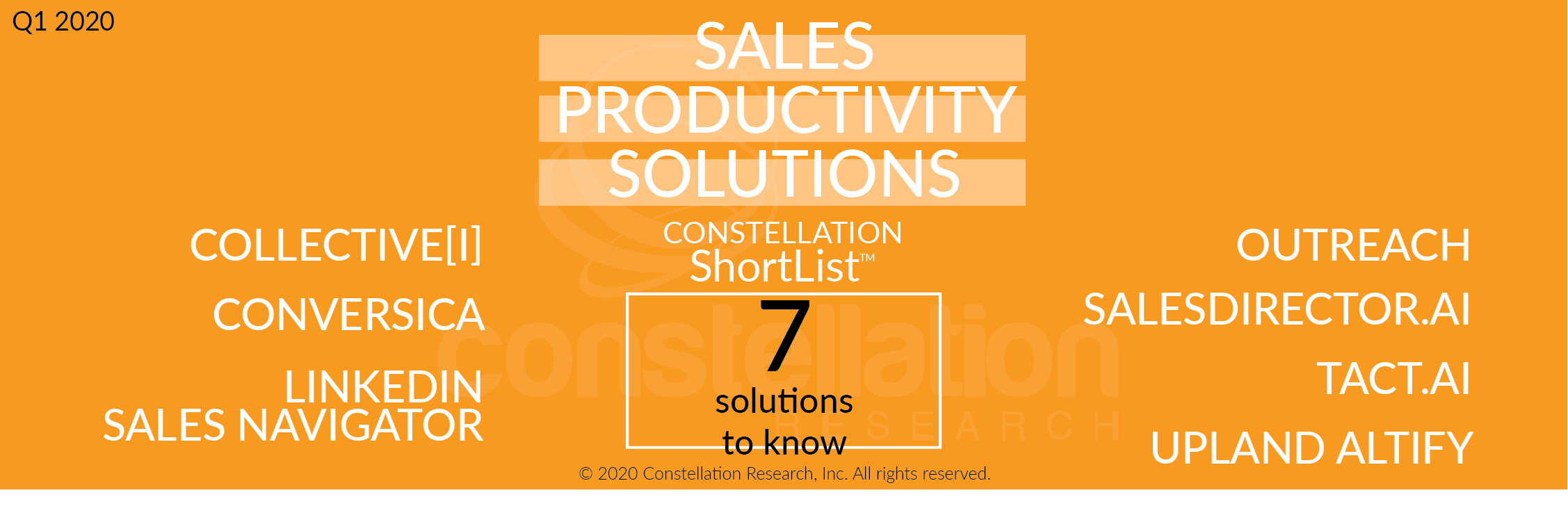 Constellation ShortList™ Sales Productivity Solutions