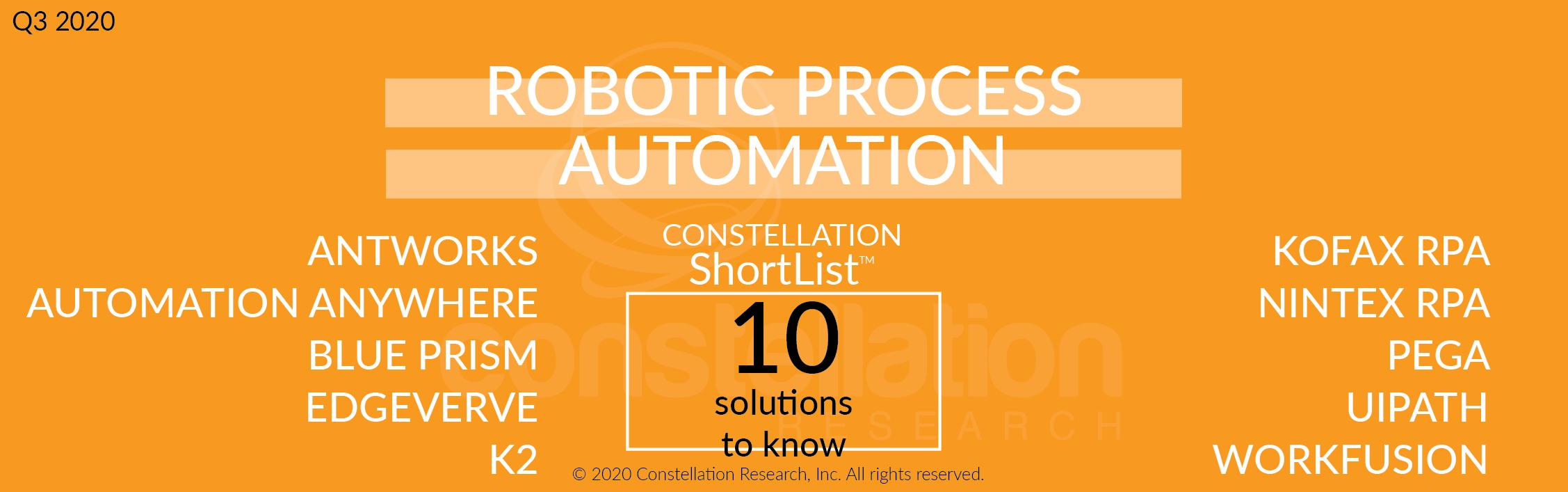 Constellation ShortList™ Robotic Process Automation